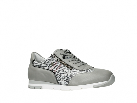 wolky chaussures a lacets 02526 yell xw 88130 cuir gris argente_3