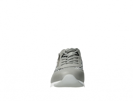 wolky chaussures a lacets 02526 yell xw 88130 cuir gris argente_7