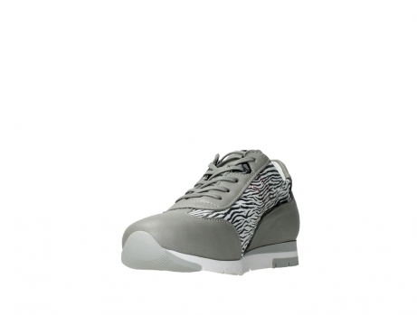 wolky chaussures a lacets 02526 yell xw 88130 cuir gris argente_9
