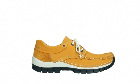 wolky chaussures a lacets 04701 fly 11558 nubuck orange blue_1