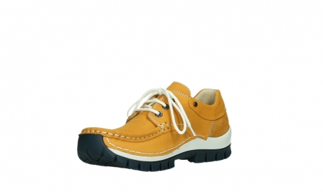 wolky chaussures a lacets 04701 fly 11558 nubuck orange blue_10