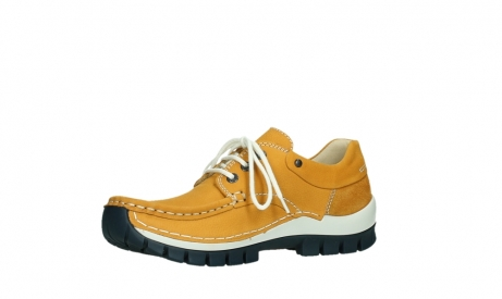 wolky chaussures a lacets 04701 fly 11558 nubuck orange blue_11