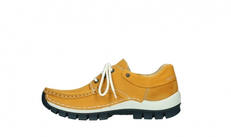 wolky chaussures a lacets 04701 fly 11558 nubuck orange blue_13