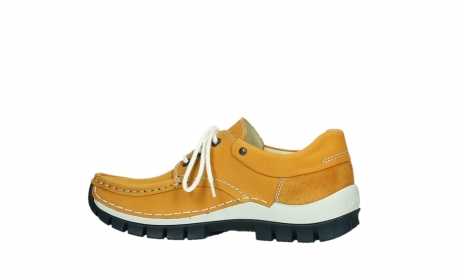 wolky chaussures a lacets 04701 fly 11558 nubuck orange blue_14