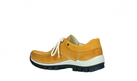 wolky chaussures a lacets 04701 fly 11558 nubuck orange blue_15
