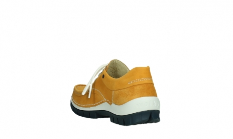 wolky chaussures a lacets 04701 fly 11558 nubuck orange blue_17