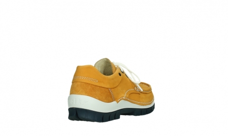 wolky chaussures a lacets 04701 fly 11558 nubuck orange blue_21
