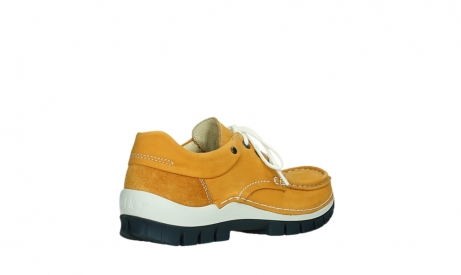 wolky chaussures a lacets 04701 fly 11558 nubuck orange blue_22