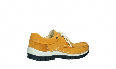 wolky chaussures a lacets 04701 fly 11558 nubuck orange blue_23