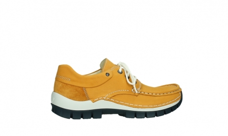 wolky chaussures a lacets 04701 fly 11558 nubuck orange blue_24