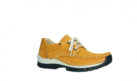 wolky chaussures a lacets 04701 fly 11558 nubuck orange blue_3