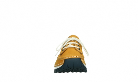 wolky chaussures a lacets 04701 fly 11558 nubuck orange blue_7
