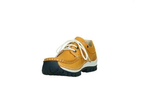 wolky chaussures a lacets 04701 fly 11558 nubuck orange blue_9
