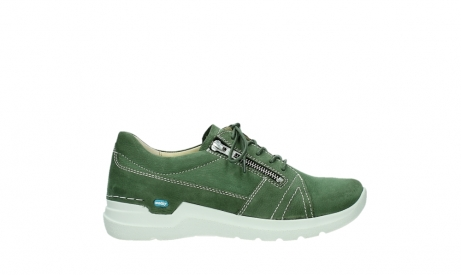 wolky chaussures a lacets 06609 feltwell 11720 nubuck vert_1