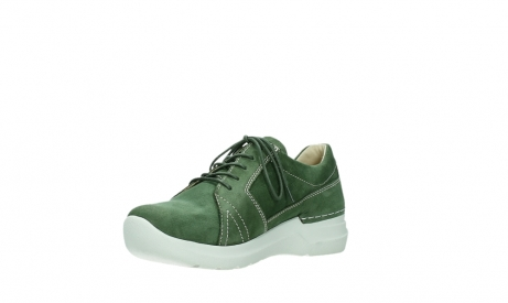 wolky chaussures a lacets 06609 feltwell 11720 nubuck vert_10