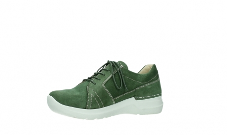 wolky chaussures a lacets 06609 feltwell 11720 nubuck vert_11