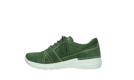 wolky chaussures a lacets 06609 feltwell 11720 nubuck vert_13