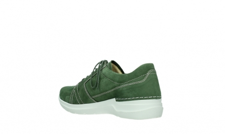 wolky chaussures a lacets 06609 feltwell 11720 nubuck vert_16