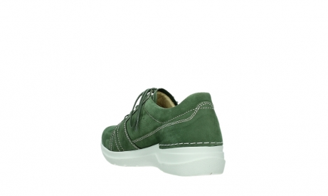 wolky chaussures a lacets 06609 feltwell 11720 nubuck vert_17