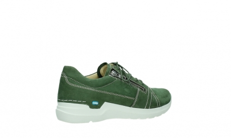 wolky chaussures a lacets 06609 feltwell 11720 nubuck vert_23