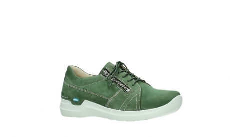 wolky chaussures a lacets 06609 feltwell 11720 nubuck vert_3