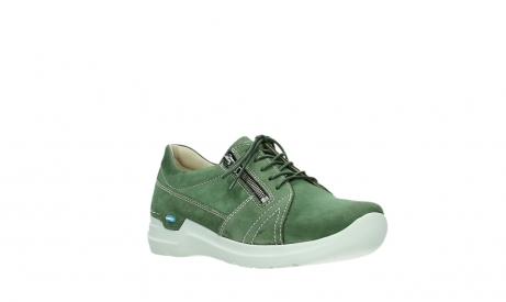 wolky chaussures a lacets 06609 feltwell 11720 nubuck vert_4