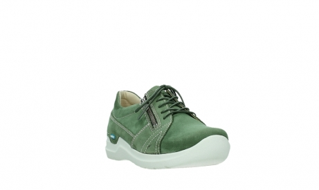 wolky chaussures a lacets 06609 feltwell 11720 nubuck vert_5