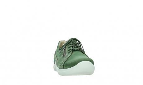 wolky chaussures a lacets 06609 feltwell 11720 nubuck vert_6