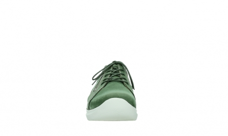 wolky chaussures a lacets 06609 feltwell 11720 nubuck vert_7