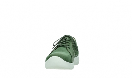 wolky chaussures a lacets 06609 feltwell 11720 nubuck vert_8