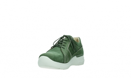 wolky chaussures a lacets 06609 feltwell 11720 nubuck vert_9