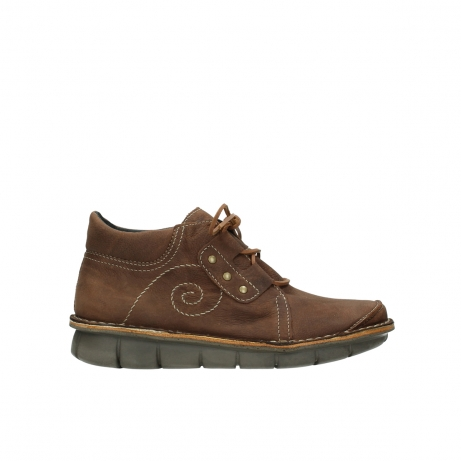 wolky chaussures a lacets 08384 gallo 10430 nubuck cognac