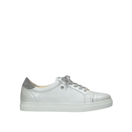 wolky chaussures a lacets 09440 perry 81100 cuir blanc metallic