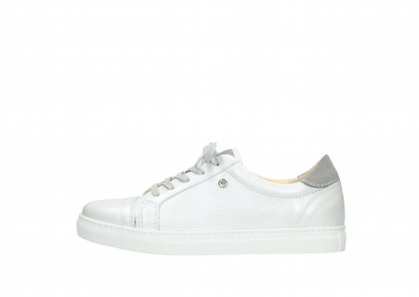 wolky chaussures a lacets 09440 perry 81100 cuir blanc metallic_1