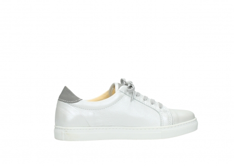 wolky chaussures a lacets 09440 perry 81100 cuir blanc metallic_12