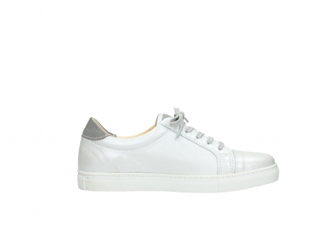 wolky chaussures a lacets 09440 perry 81100 cuir blanc metallic_13
