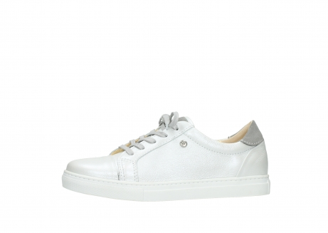 wolky chaussures a lacets 09440 perry 81100 cuir blanc metallic_24