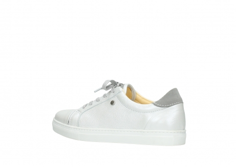 wolky chaussures a lacets 09440 perry 81100 cuir blanc metallic_3