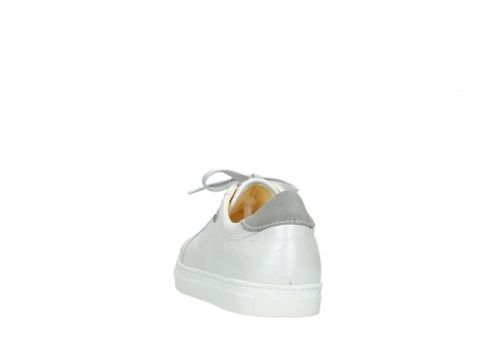 wolky chaussures a lacets 09440 perry 81100 cuir blanc metallic_6