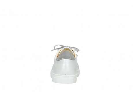 wolky chaussures a lacets 09440 perry 81100 cuir blanc metallic_7