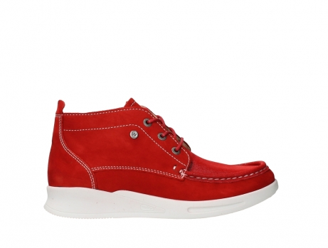 wolky bottines a lacets 05906 six 10570 nubuck extensible rouge_1
