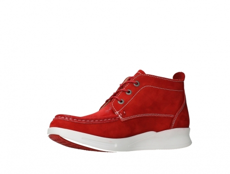 wolky bottines a lacets 05906 six 10570 nubuck extensible rouge_11