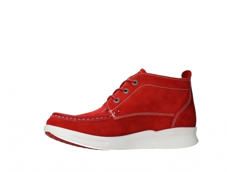 wolky bottines a lacets 05906 six 10570 nubuck extensible rouge_12