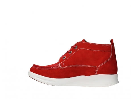 wolky bottines a lacets 05906 six 10570 nubuck extensible rouge_14