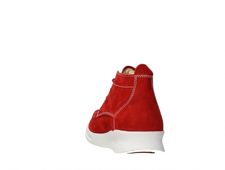 wolky bottines a lacets 05906 six 10570 nubuck extensible rouge_18
