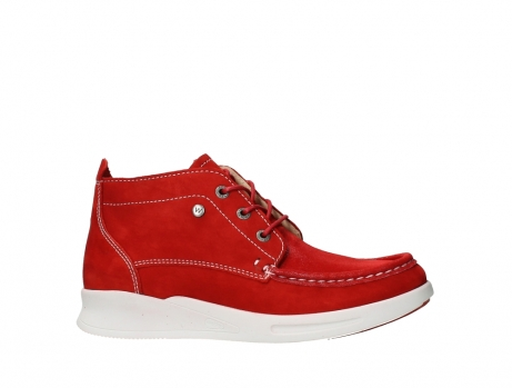 wolky bottines a lacets 05906 six 10570 nubuck extensible rouge_2