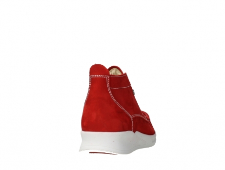 wolky bottines a lacets 05906 six 10570 nubuck extensible rouge_20