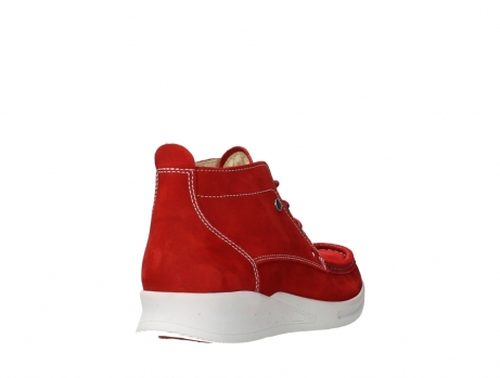 wolky bottines a lacets 05906 six 10570 nubuck extensible rouge_21
