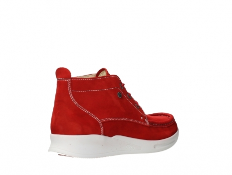 wolky bottines a lacets 05906 six 10570 nubuck extensible rouge_22