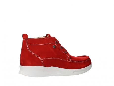 wolky bottines a lacets 05906 six 10570 nubuck extensible rouge_23